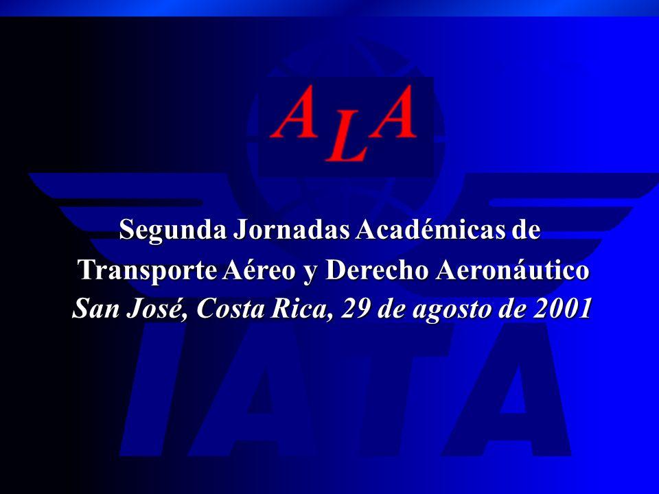 Segunda Jornadas Académicas de Transporte Aéreo y Derecho Aeronáutico