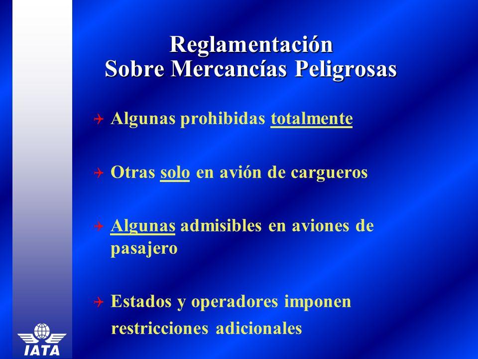 Reglamentación Sobre Mercancías Peligrosas