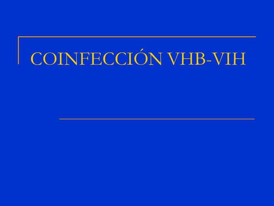 COINFECCIÓN VHB-VIH