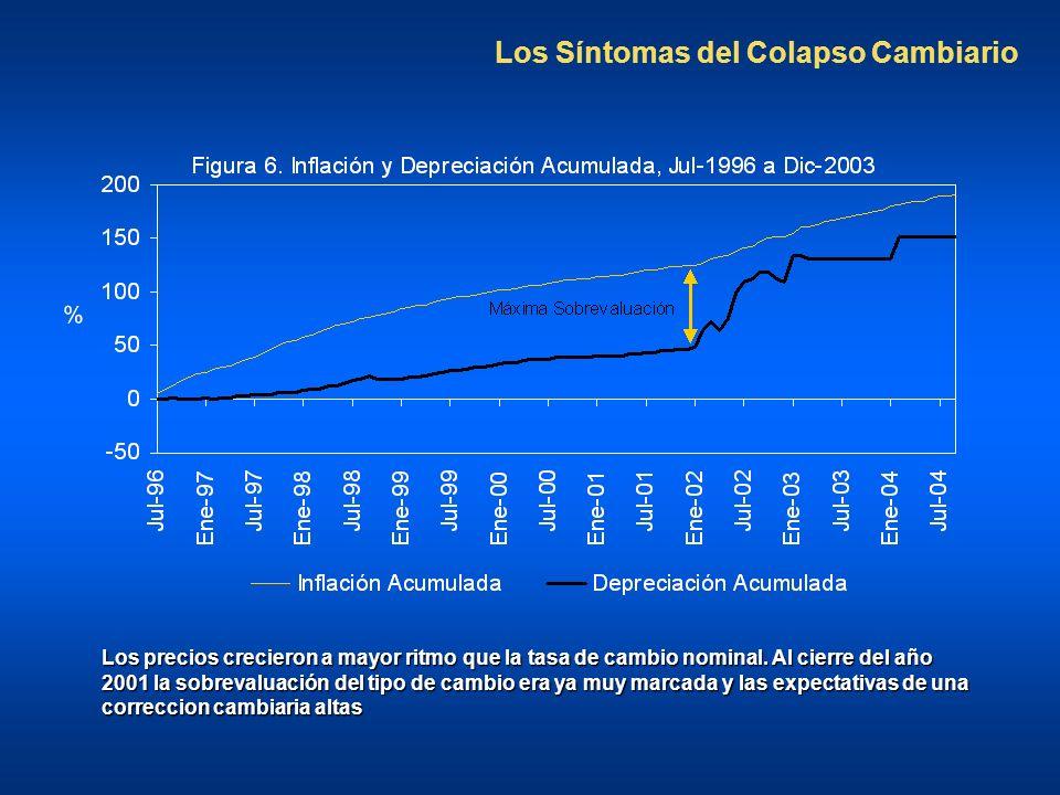 Los Síntomas del Colapso Cambiario