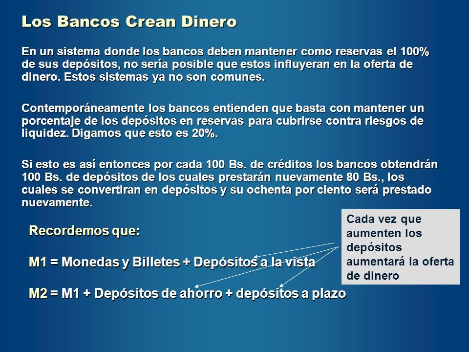 Los Bancos Crean Dinero