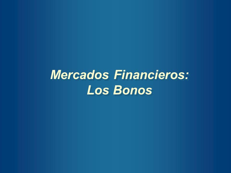 Mercados Financieros: