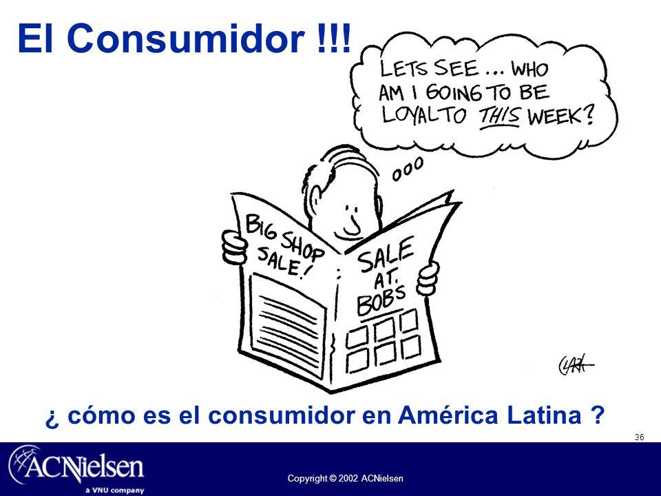 ¿ cómo es el consumidor en América Latina