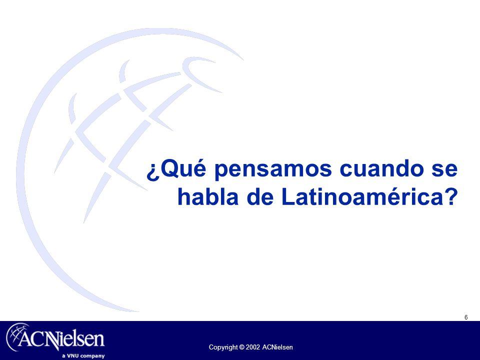 ¿Qué pensamos cuando se habla de Latinoamérica
