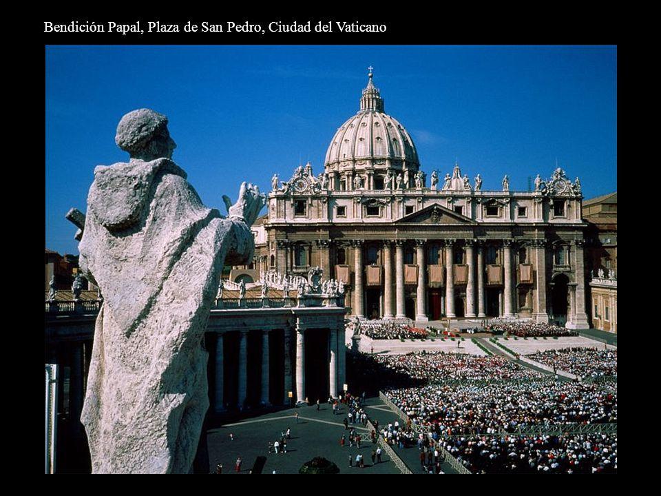 Bendición Papal, Plaza de San Pedro, Ciudad del Vaticano