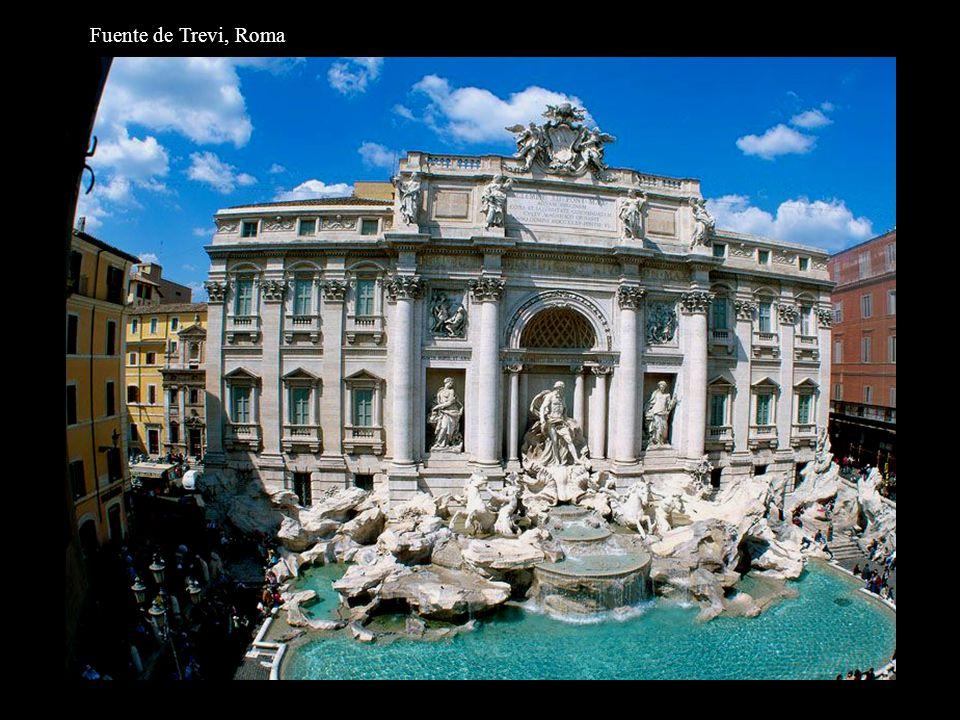 Fuente de Trevi, Roma