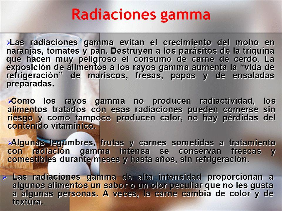 Radiaciones gamma