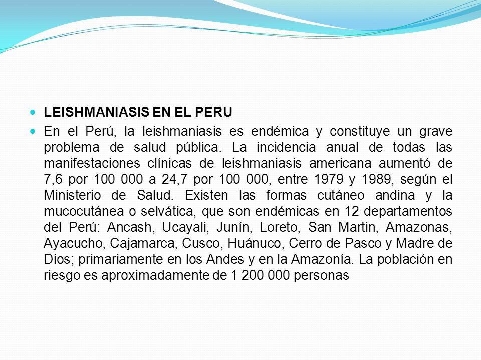 LEISHMANIASIS EN EL PERU