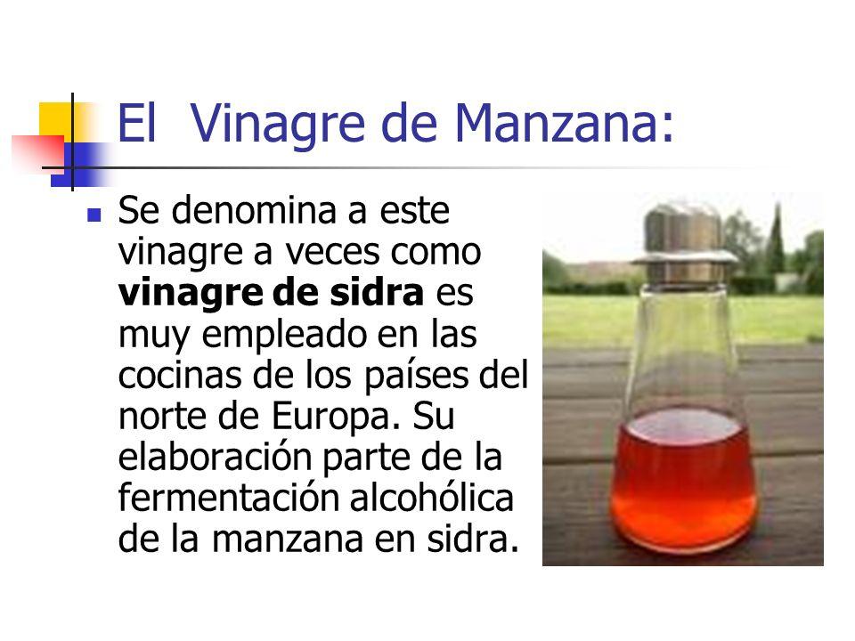 El Vinagre de Manzana: