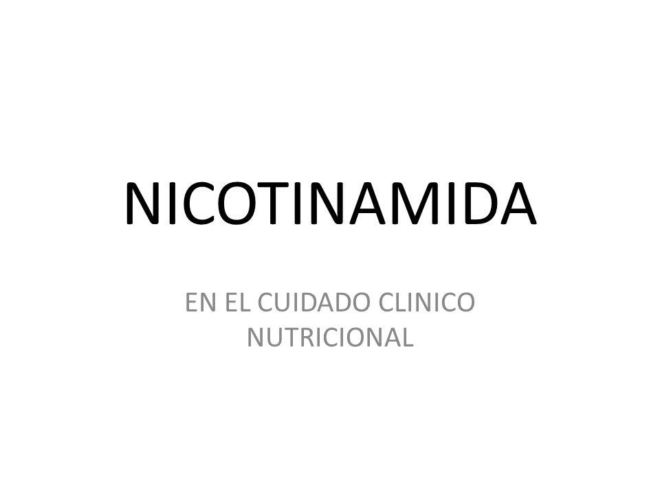 EN EL CUIDADO CLINICO NUTRICIONAL