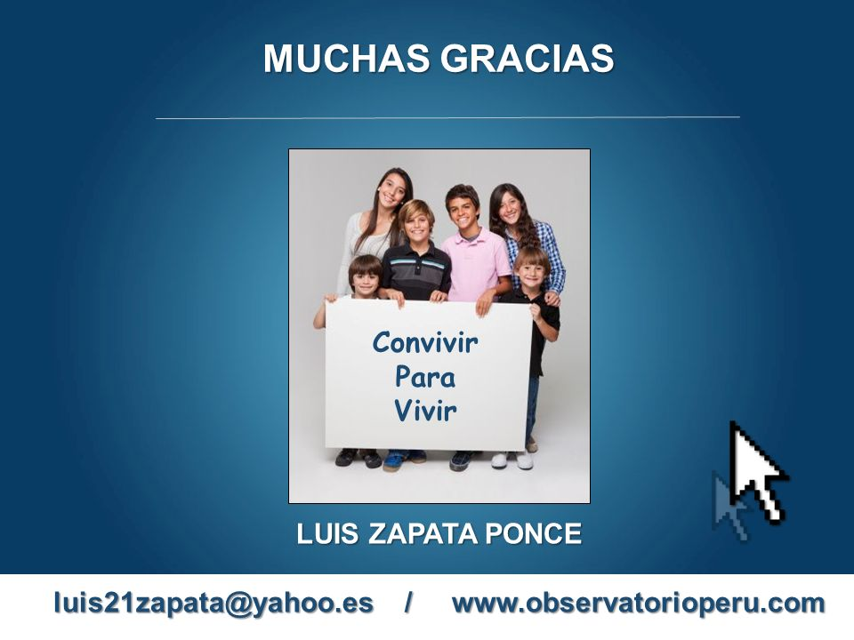 luis21zapata@yahoo.es / www.observatorioperu.com