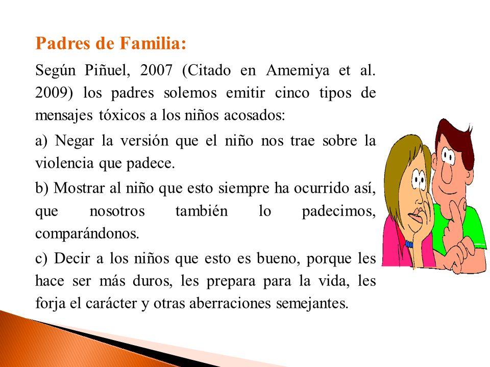 Padres de Familia: