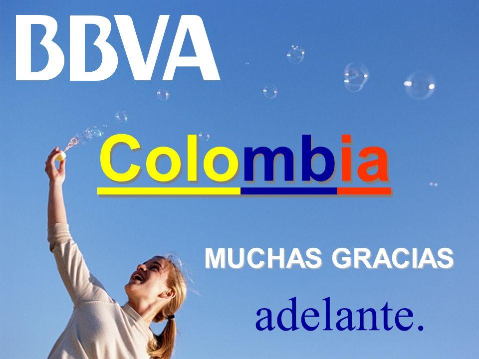 Colombia MUCHAS GRACIAS adelante.