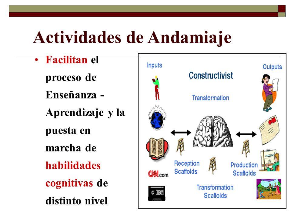 Actividades de Andamiaje