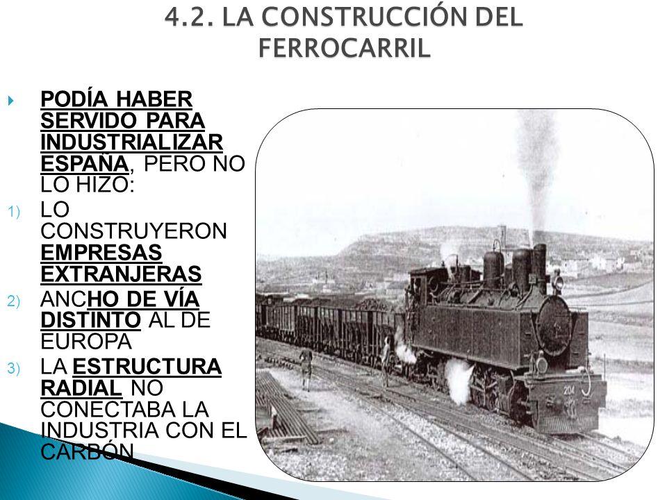 4.2. LA CONSTRUCCIÓN DEL FERROCARRIL