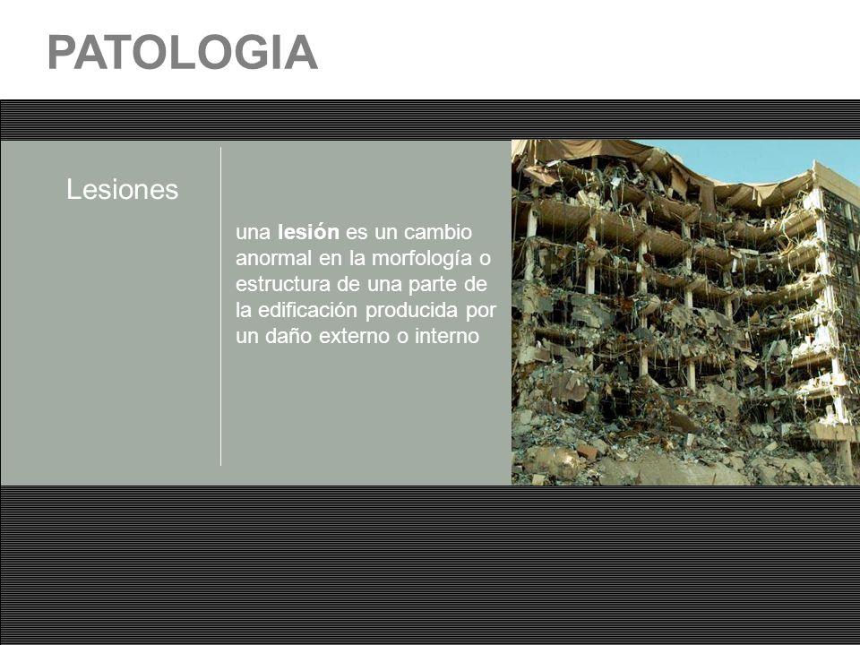 PATOLOGIA Lesiones.