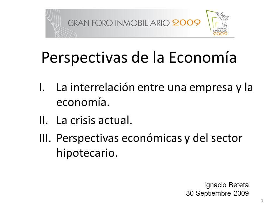 Perspectivas de la Economía