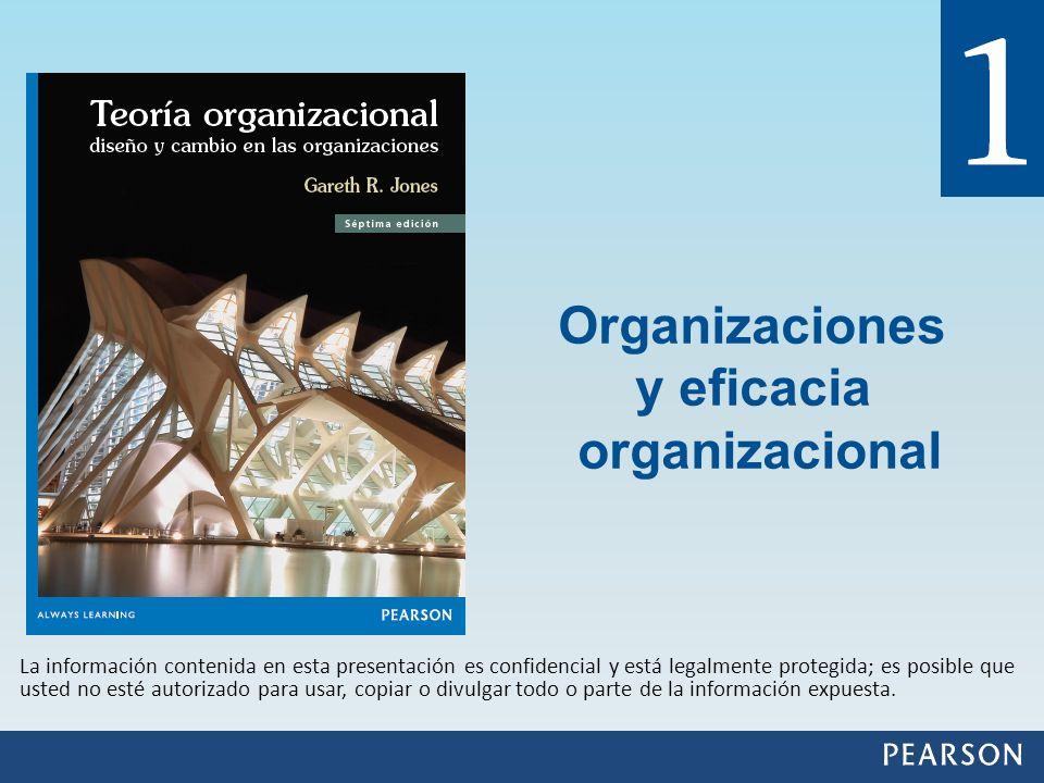Organizaciones y eficacia organizacional