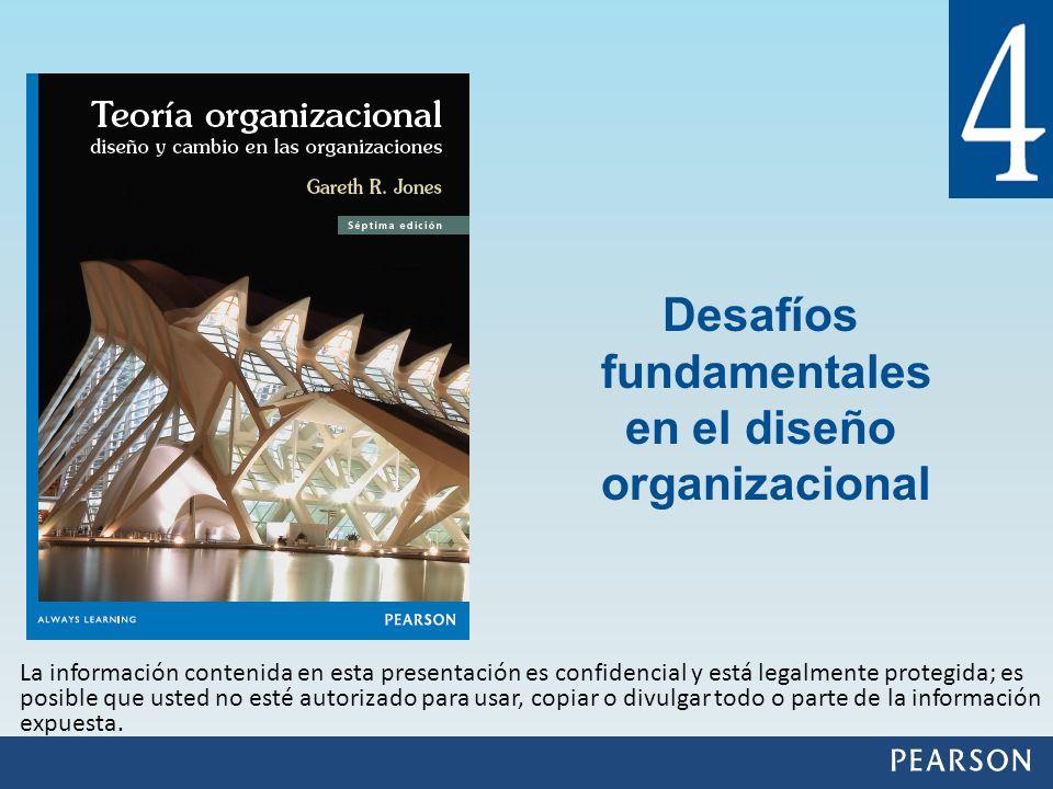 Desafíos fundamentales en el diseño organizacional