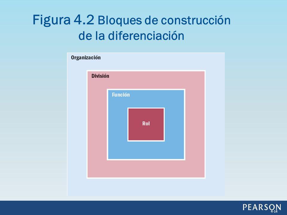 Figura 4.2 Bloques de construcción de la diferenciación
