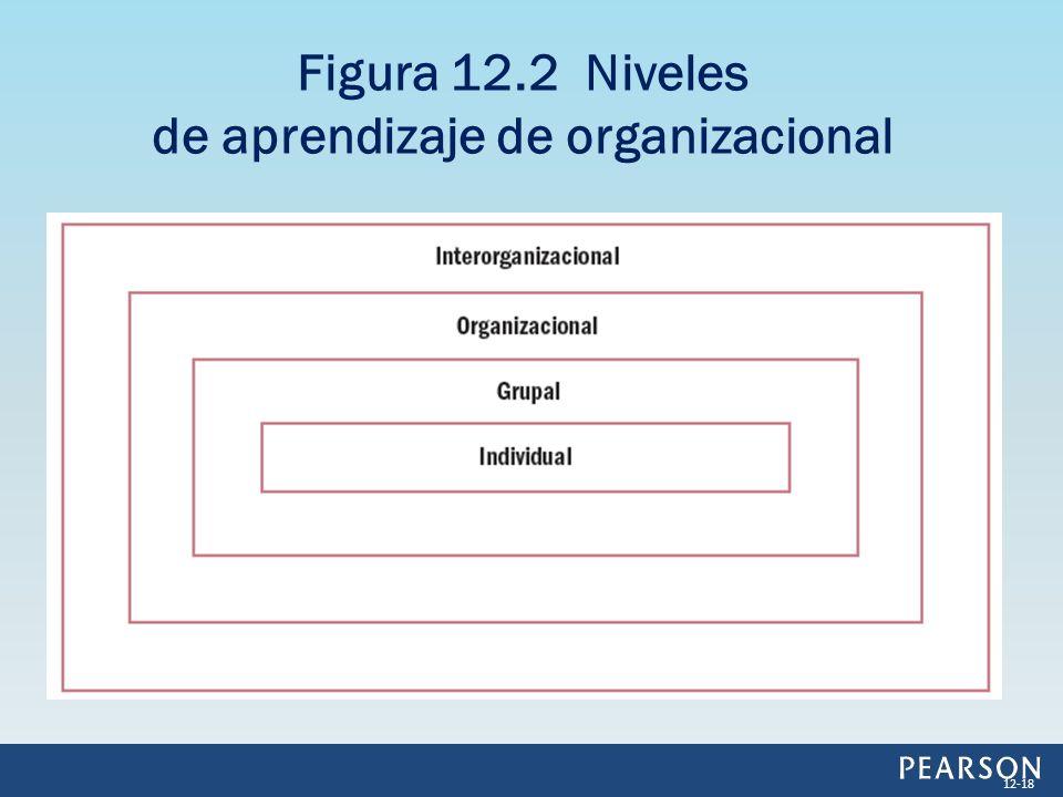 Figura 12.2 Niveles de aprendizaje de organizacional