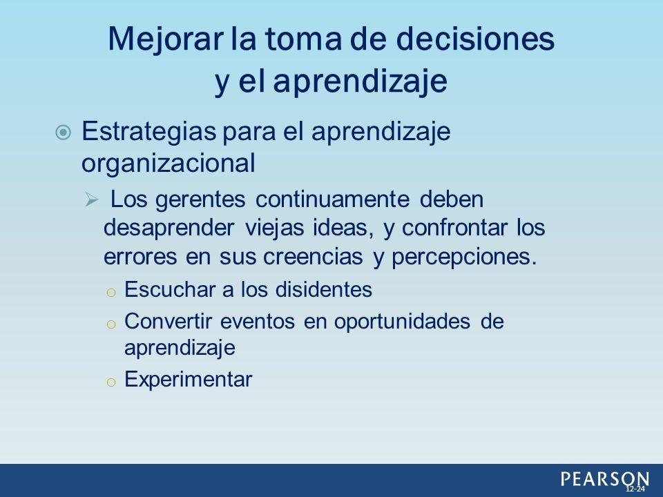 Mejorar la toma de decisiones y el aprendizaje