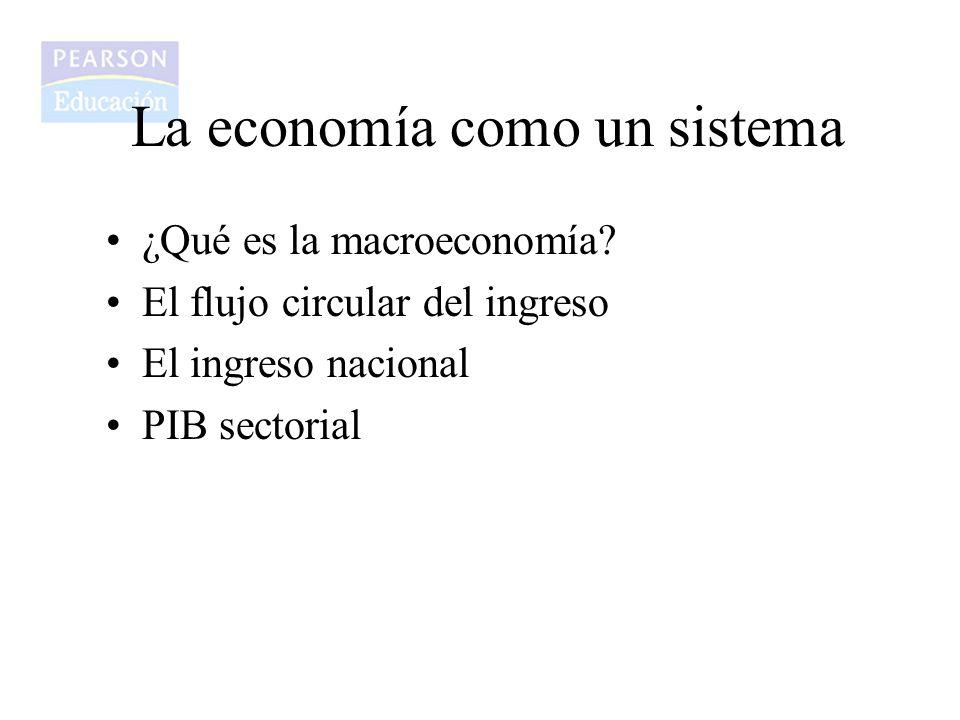 La economía como un sistema