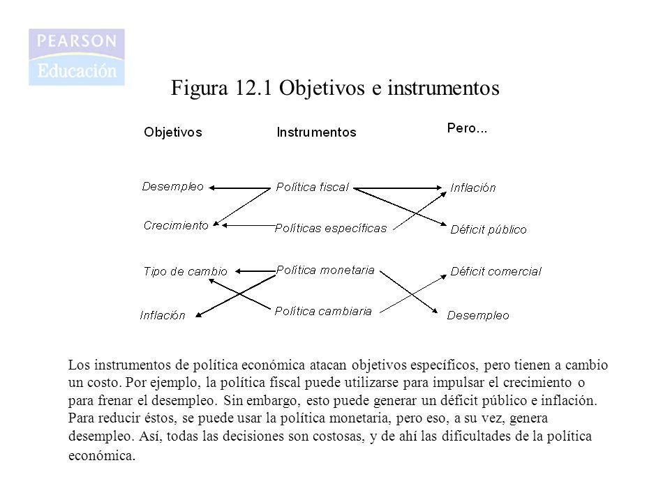 Figura 12.1 Objetivos e instrumentos