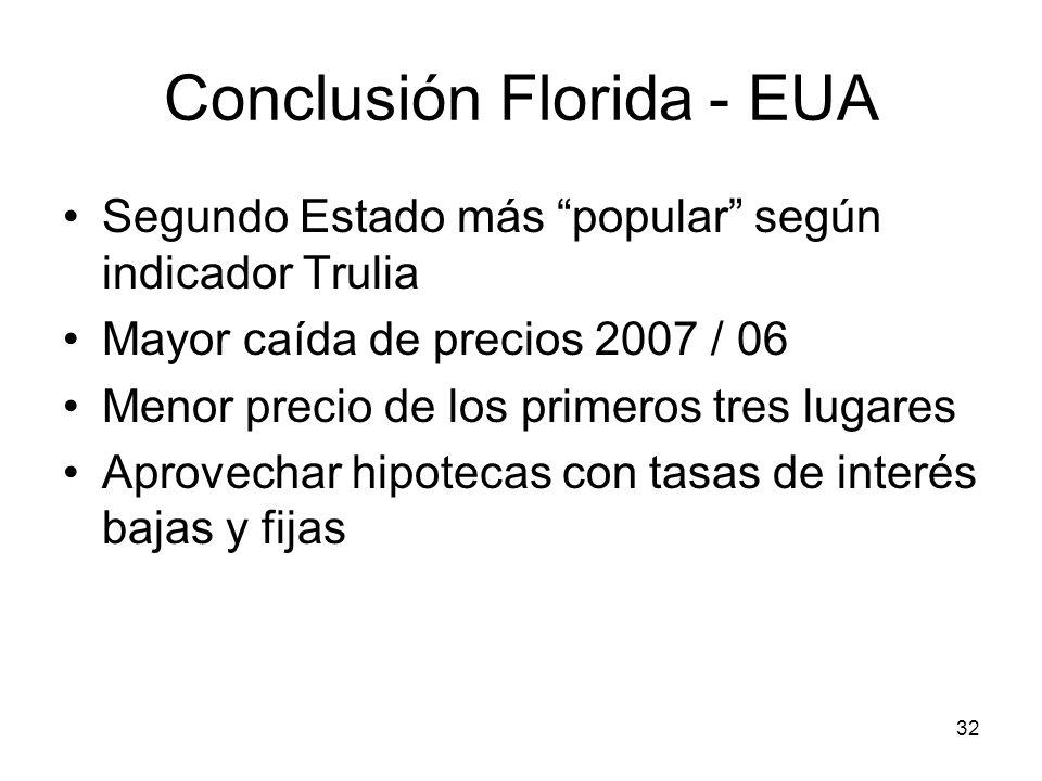 Conclusión Florida - EUA