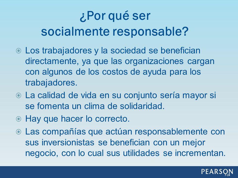 ¿Por qué ser socialmente responsable