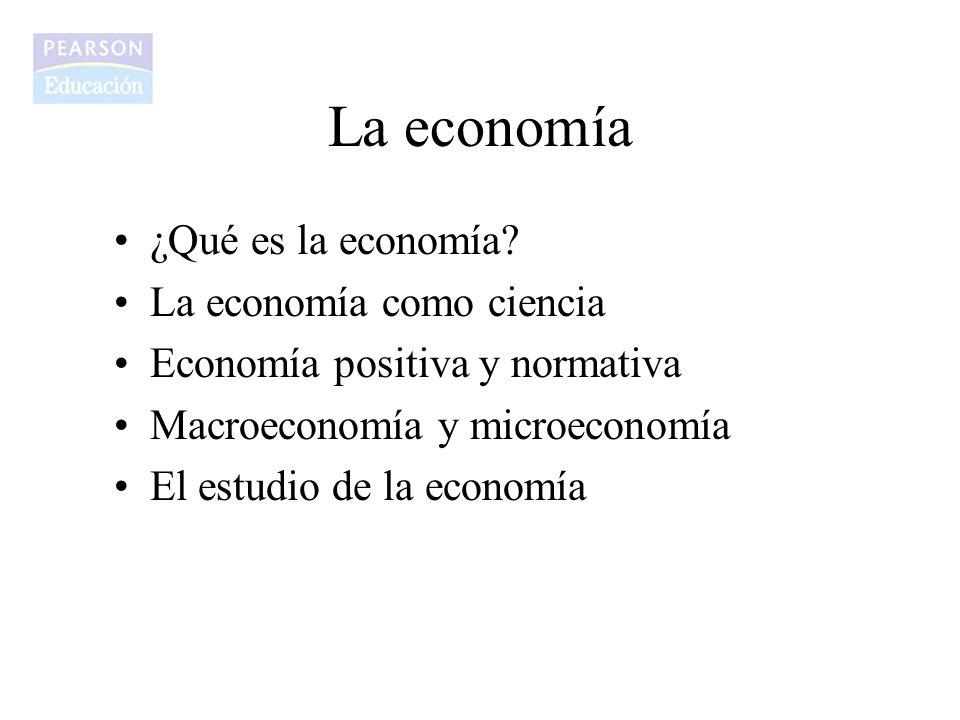 La economía ¿Qué es la economía La economía como ciencia