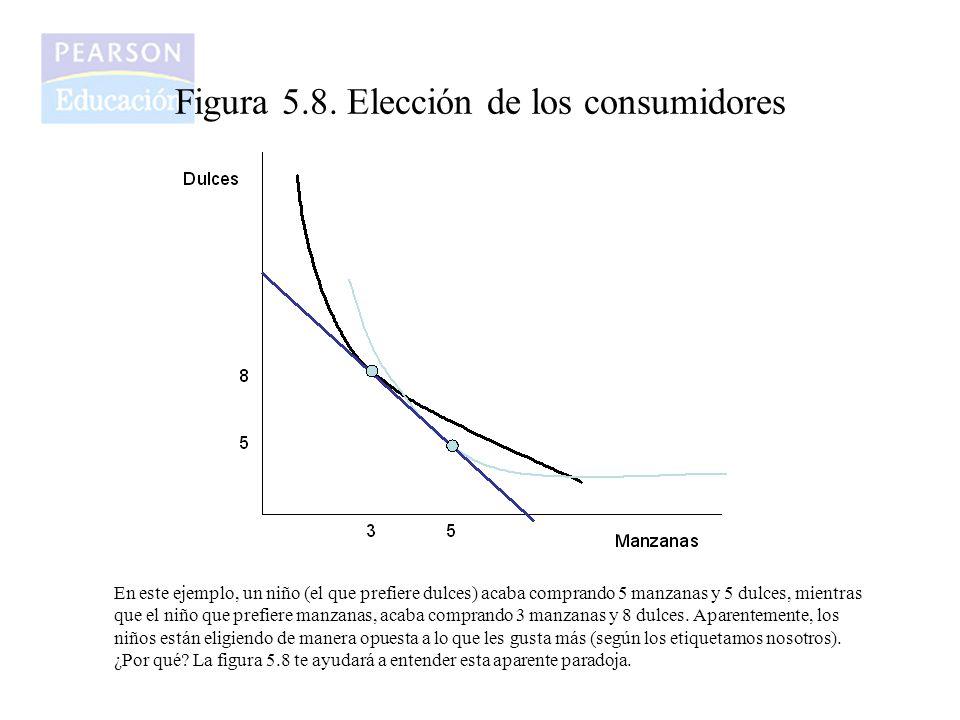 Figura 5.8. Elección de los consumidores