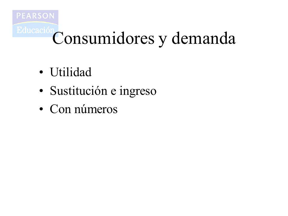 Consumidores y demanda