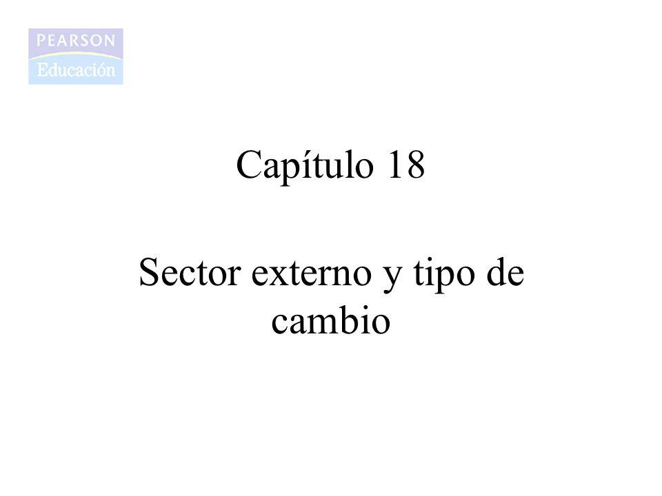 Sector externo y tipo de cambio