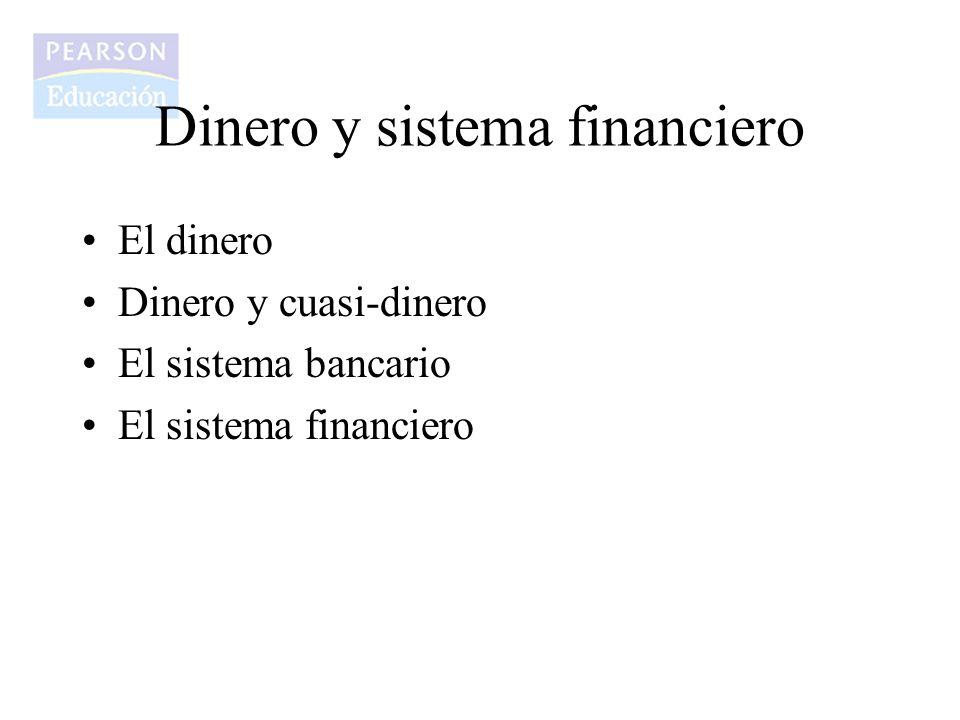 Dinero y sistema financiero