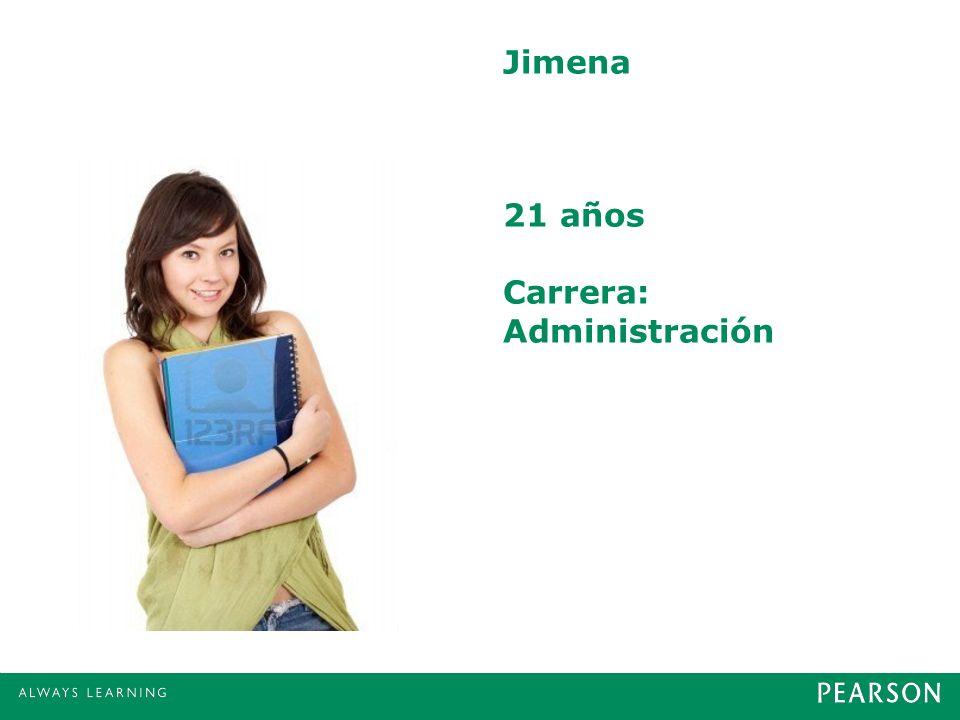 Jimena 21 años Carrera: Administración