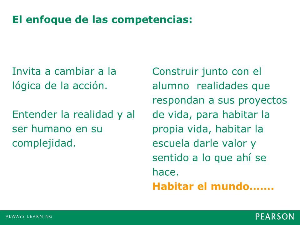 El enfoque de las competencias:
