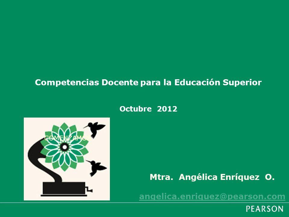 Competencias Docente para la Educación Superior