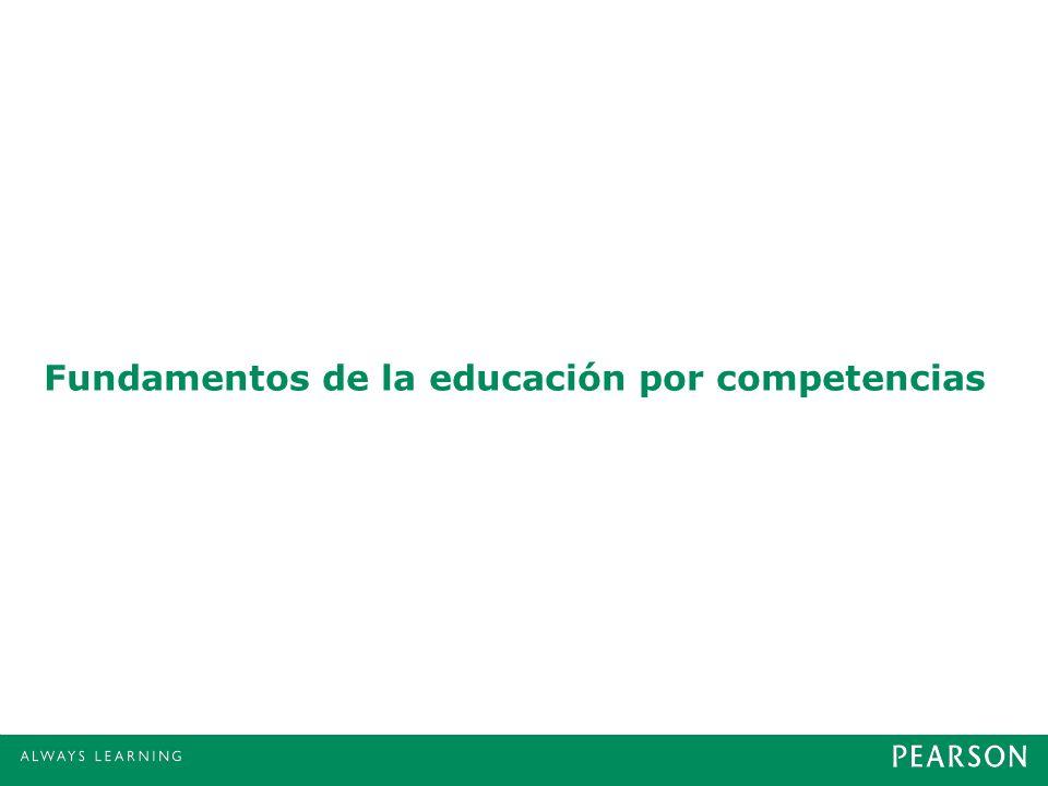Fundamentos de la educación por competencias
