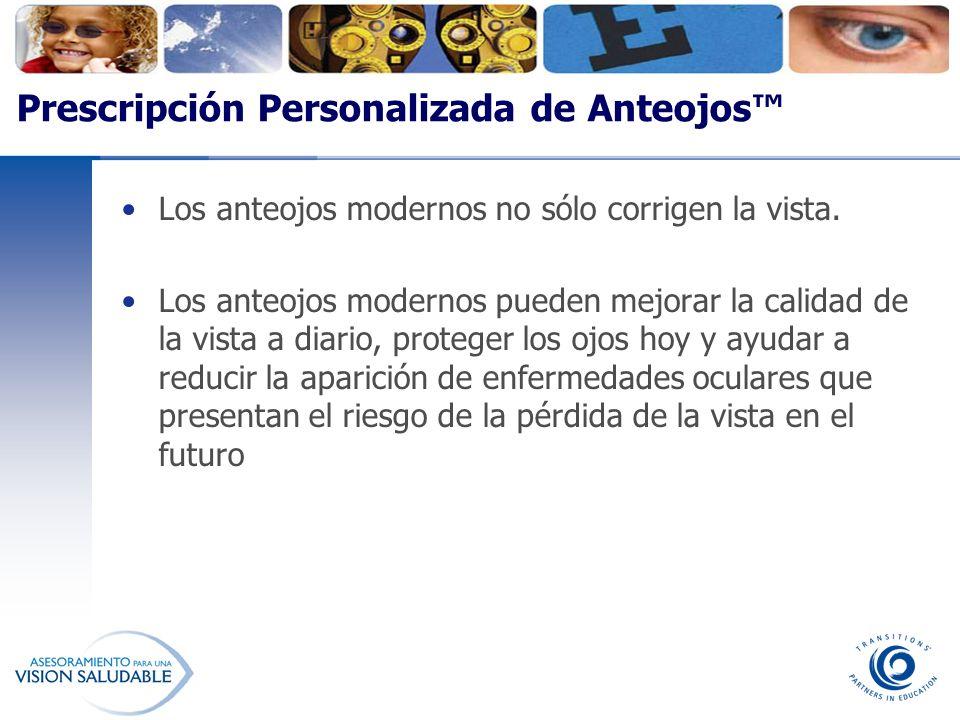 Prescripción Personalizada de Anteojos™