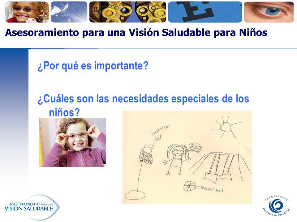 Asesoramiento para una Visión Saludable para Niños