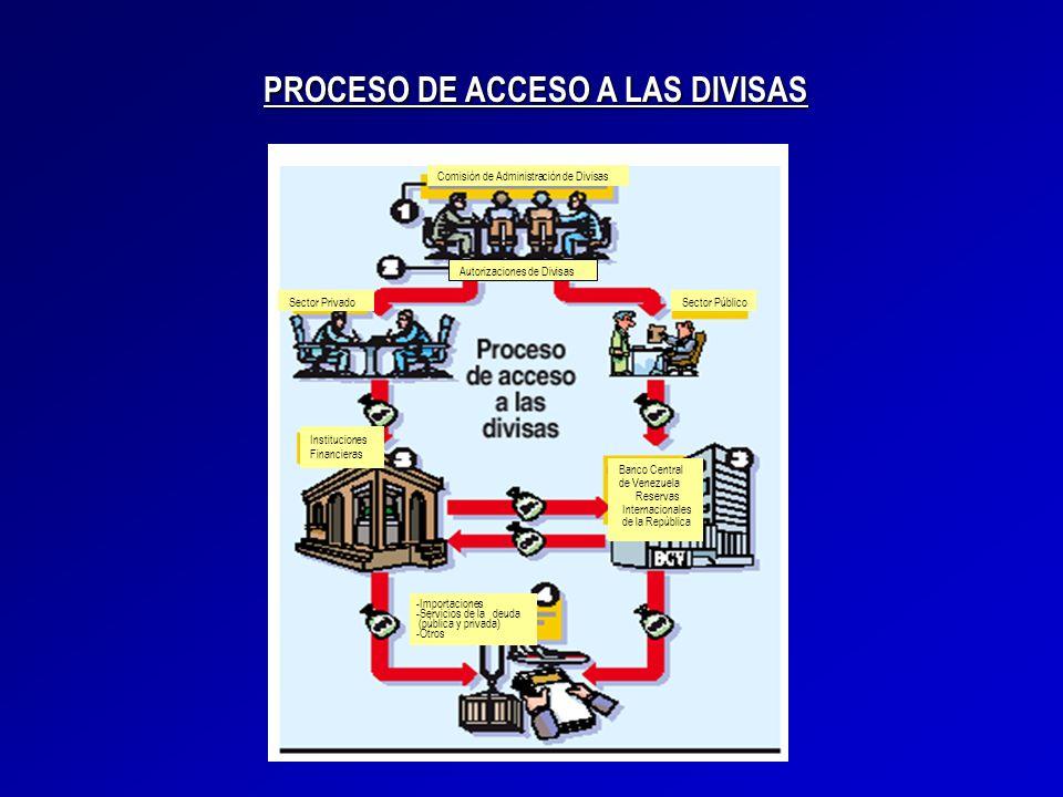 PROCESO DE ACCESO A LAS DIVISAS