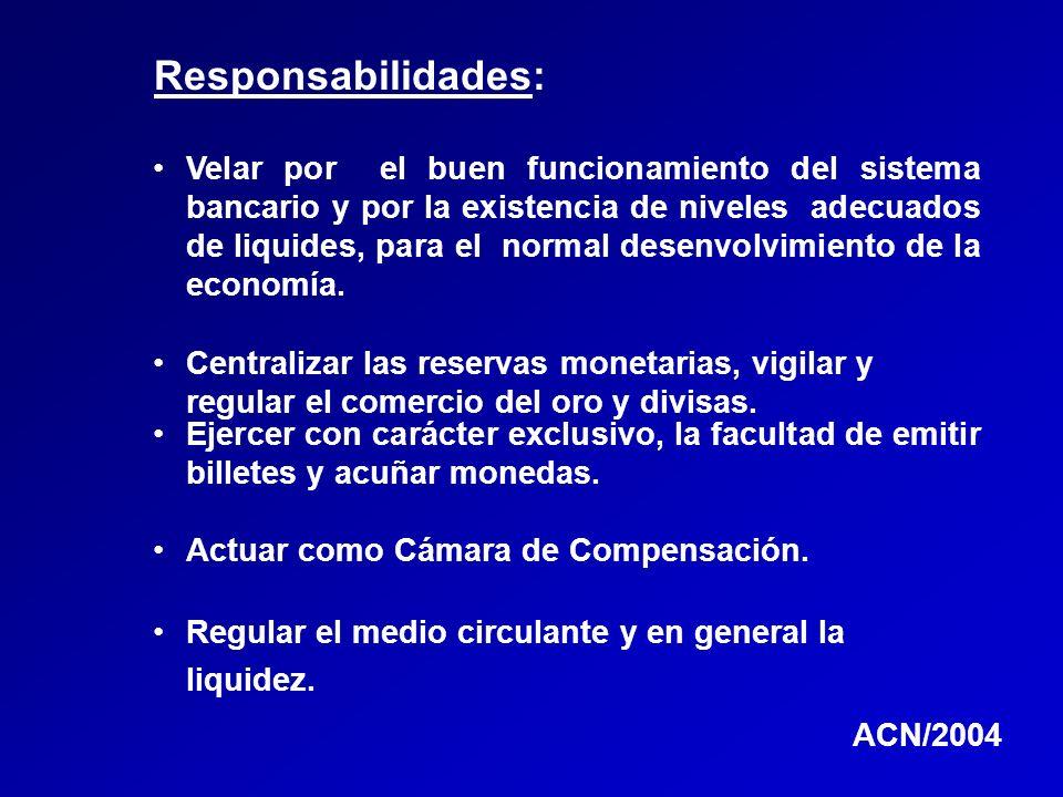 Responsabilidades: