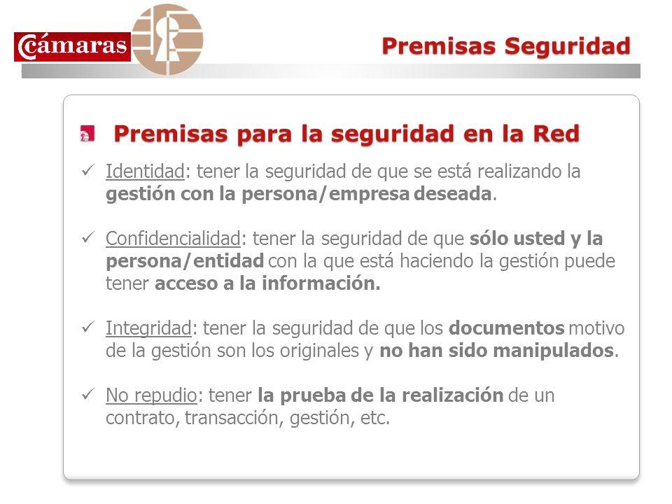 Premisas para la seguridad en la Red