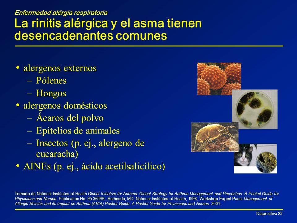 Insectos (p. ej., alergeno de cucaracha)