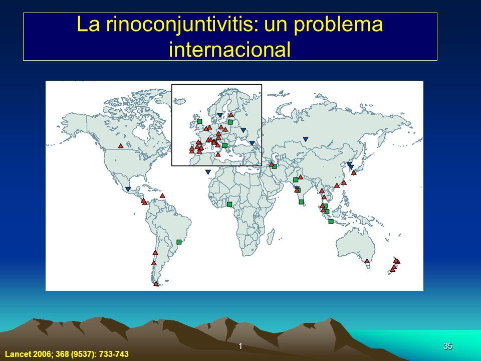 La rinoconjuntivitis: un problema internacional