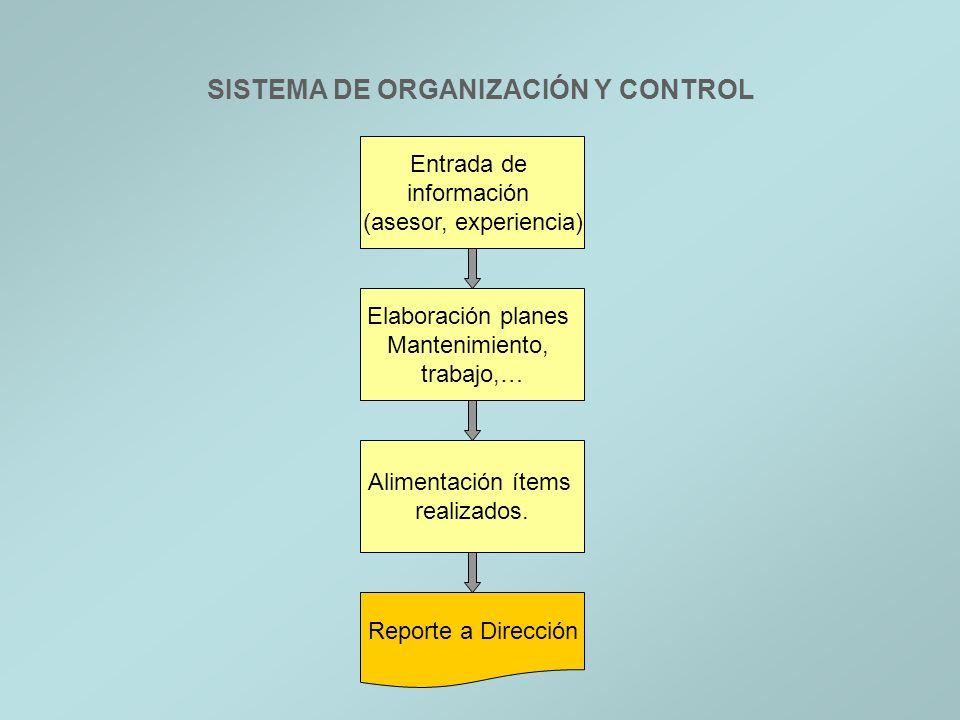SISTEMA DE ORGANIZACIÓN Y CONTROL