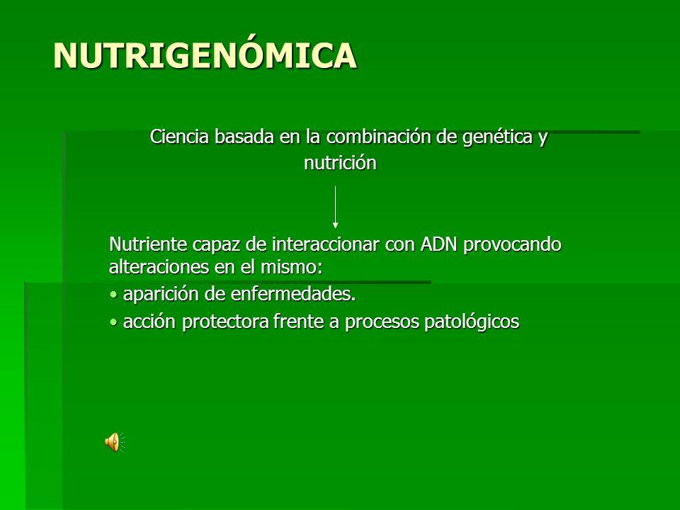 Ciencia basada en la combinación de genética y nutrición