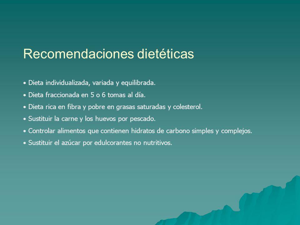 Recomendaciones dietéticas