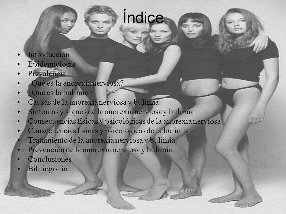 Índice Introducción Epidemiología Prevalencia